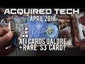 Acquired Tech - April 2018 - ATI Cards Galore + Rare S3 Graphics card?