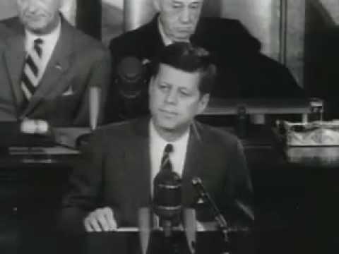 John F Kennedy Apollo Speech - YouTube