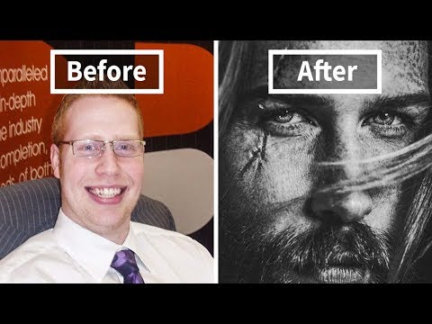 Barber Tells This 'Shy' Insurance Man To Grow A Beard And It Ends Up Transforming His Life
