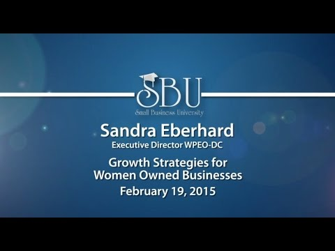 Small Business University: Sandra Eberhard
