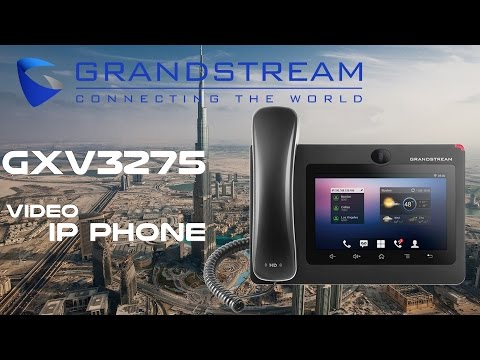 Grandstream GXV3275  Video IP Phone Dubai | Grandstream Phones UAE