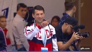 Николай Морозов после проката КП Ксении Столбовой и Андрея Новоселова