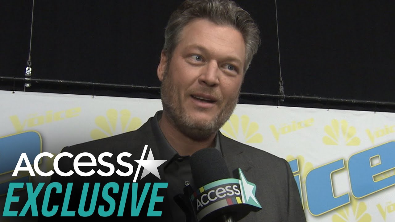 Blake Shelton Jokes That It's 'Tougher To Stand Out' On 'The Voice' Now That Adam Levine Is Gone