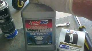 How To Guide - Yamaha R6 oil change