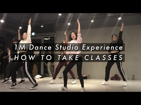 How To Take Classes at 1Million Dance Studio | My Experiences (Turn on CC)