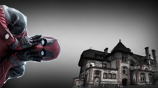 DEADPOOL IS VISITING THE HAUNTED HOUSE!
