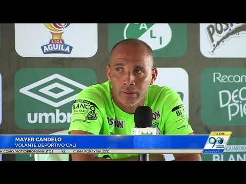 Agosto 23 2017 Malos resultados en Deportivo Cali se deben a la poca unión del equipo: Mayer Candelo