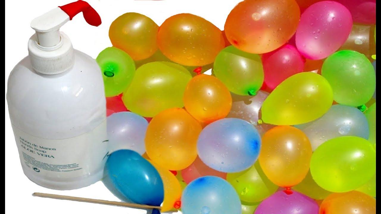 Globos De Agua Truco Para Llenar Y Cerrar Juegos De Verano Ideas