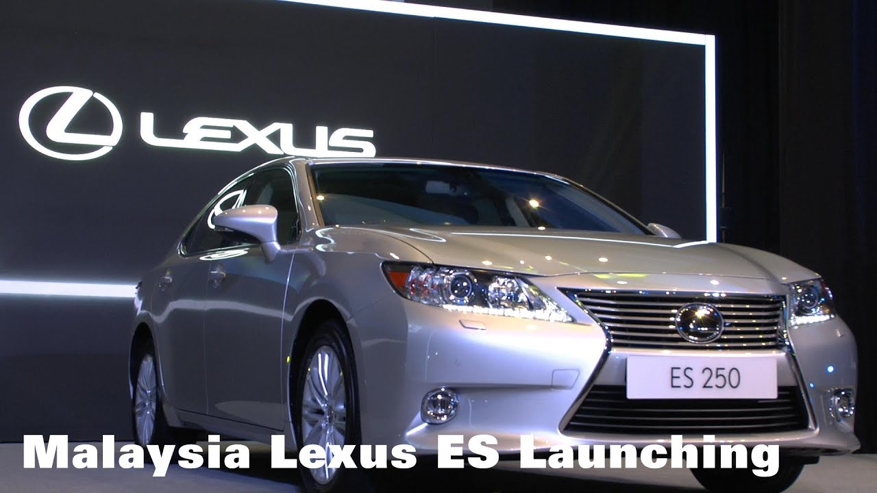 """LEXUS MALAYSIA INTRODUCES GLOBAL BEST SELLING MODEL """"THE ALL NEW"""