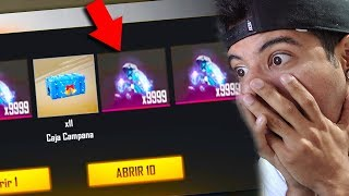 ABRO CAJAS EXCLUSIVAS DE 10,000 DIAMANTES!! FREE FIRE