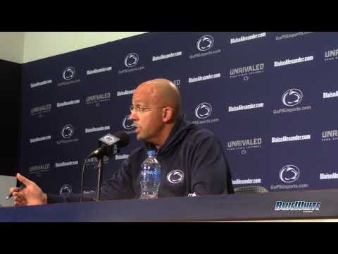 Penn State Nittany Lions Football: James Franklin press conference highlights