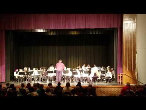 Rantoul Eagle Band Winter concert