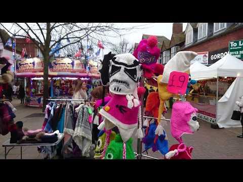 2017.12.05 Christmas Decor And Market Solihull, UK