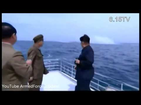 NORTH KOREA TESTS IT'S FIRST SUBMARINE LAUNCHED BALLISTIC MISSILE -FAILED