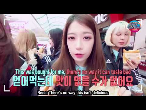 [ENGSUB HICAM] 170418 PRISTIN's Special Time On The Way To D