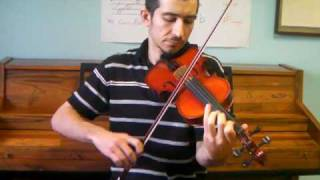 Beethoven - Fur Elise on Violin (random improv)