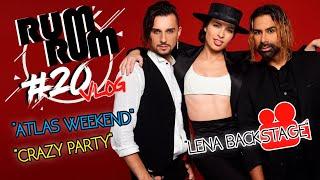 "RUM RUM VLOG #20: Как снималась ""Lena"" RUMBERO'S Atlas Weekend, Crazy Party, Amador Lopez, M1"