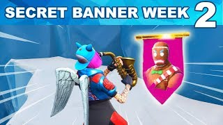 WEEK 2 FIND SECRET BANNER FROM LOADING SCREEN LOCATION FORTNITE - SECRET BATTLE STAR WEEK 2 SEASON 7