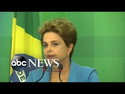 Brazil President Dilma Rousseff Impeached by Senate