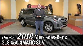 Review: New 2018 Mercedes-Benz GLS450 SUV- Minneapolis Minnetonka Wayzata, MN