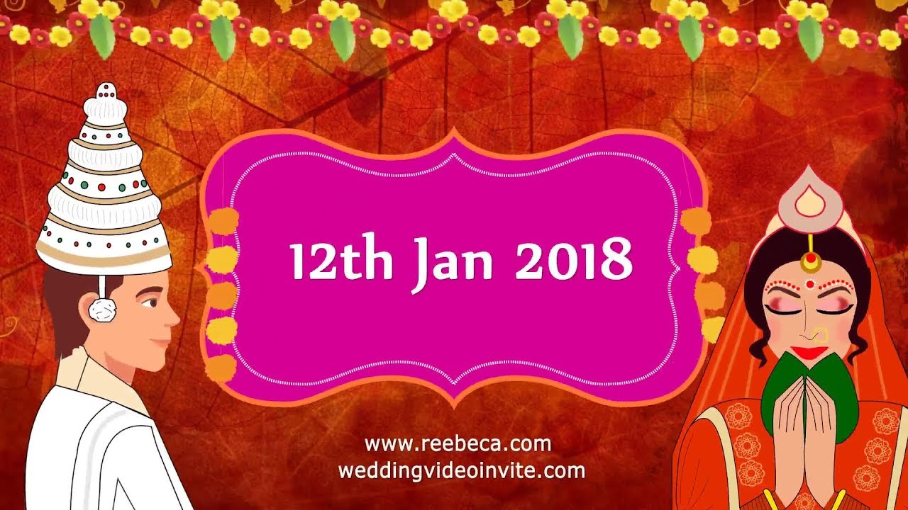 wedding invitation cards in bengali - Picture Ideas References