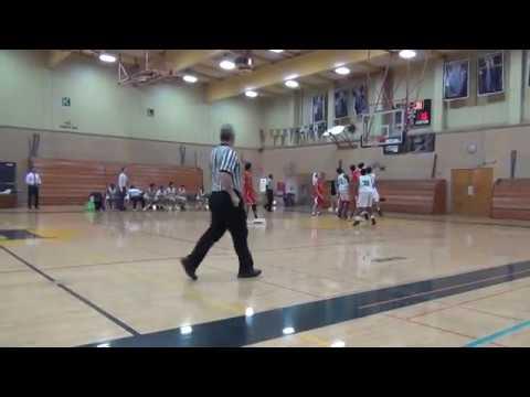 Berkeley vs Hayward, Freshman Boys basketball, 1-17-18, 1st half