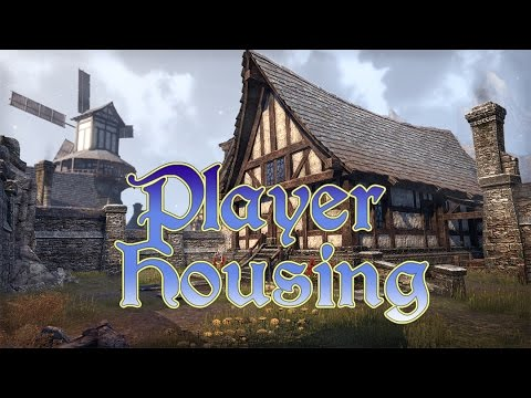 ESO Player Housing: Buying Houses, Decorating, Furniture Crafting, and more!
