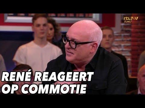 René  van der Gijp reageert op commotie rond Renate-grap - VOETBAL INSIDE