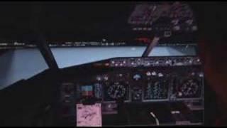 ms flight sim awesome video continental airways b737 400