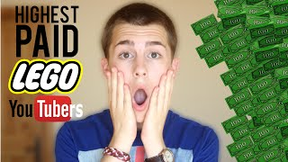 Top 10 Highest Paid LEGO YouTubers
