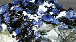 #106, Amazing Benitoite and Neptunite Specimen