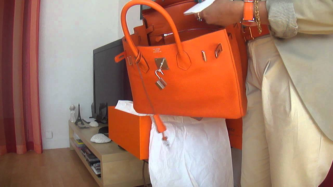 5a1973e88f9b UNBOXING MY NEW BAG BIRKIN Hermès - YouTube