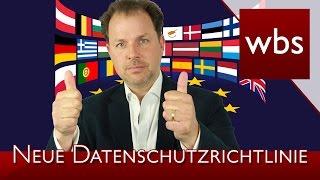 Neue Datenschutzrichtlinie | Rechtsanwalt Christian Solmecke