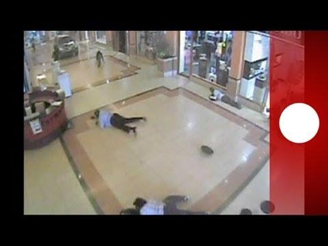 Dramatic new CCTV footage reveals horror of Kenya mall massacre