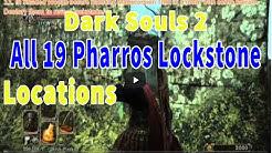 Dark Souls 2 All 19 Pharros Lockstone Locations