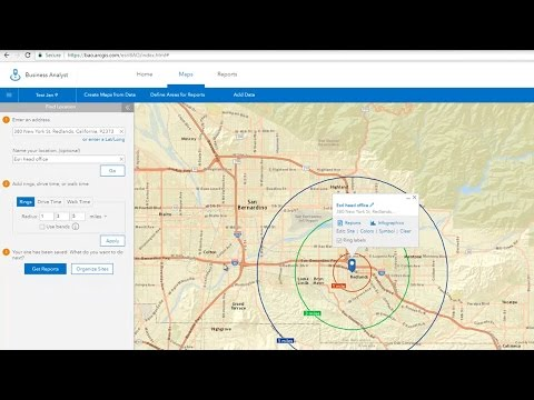 Find Locations in Business Analyst