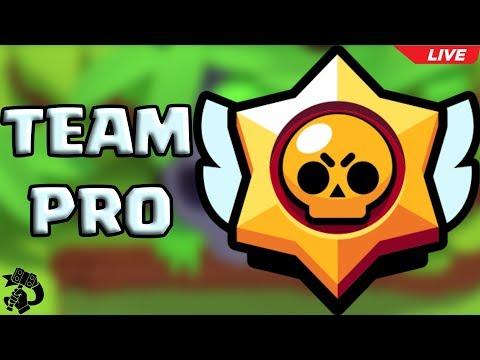🔴 VI PRESENTO IL MIO TEAM PRO !!! ROAD TO 12'000 🏆 !!!! #🐷 | BRAWL STARS |