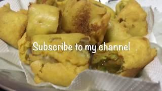 Cut Mirchi Bajji || Mirchi Pakoda | Mirchi Bajji Recipe | Chilli Bajji | Mirapakaya Bajji |