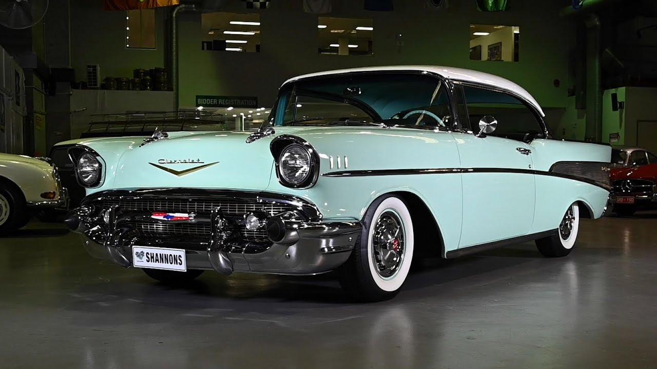 1957 Chevrolet Bel Air Sport Coupe (LHD) - 2019 Shannons Sydney Autumn Classic Auction