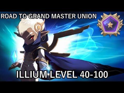 ILLIUM LEVEL 40-100 (MapleStory Road to Grand Master Union Ep.35)