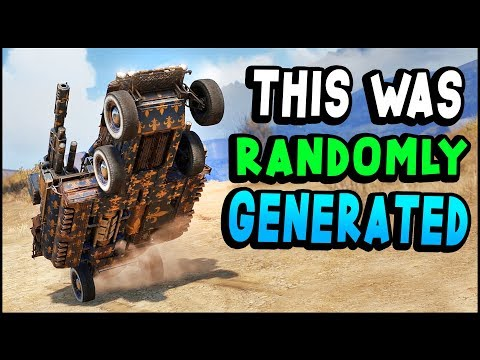 Crossout - This Was RANDOMLY Generated (Crossout Gameplay)