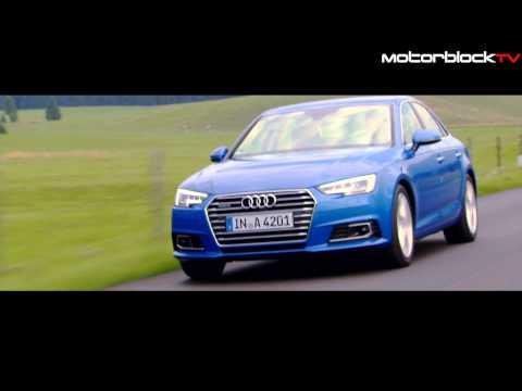 Audi A4 MY16 - Trailer