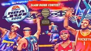 NBA Live 2005 PS2 Slam Dunk Contest 1