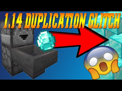 Minecraft 1.14+ Duplication Glitch (SUPER EASY) | Working August 2019 | Java Edition