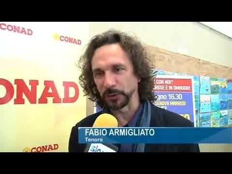 Intervista al tenore ARMILIATO - Partita del Ringraziamento Genova 17 giugno 2012