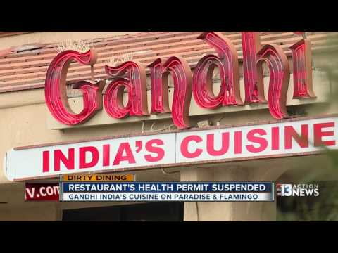 Dirty Dining looks at Gandhi India's Cuisine being shut down