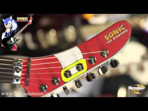 ESP STH-130 'Sonic The Hedgehog' Ltd Edition Guitar - Nevada Music UK