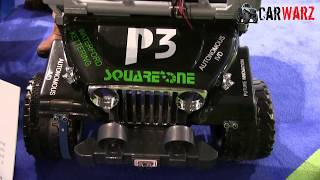 Student Made Fully Autonomous Jeep Power Wheels At The 2018 NAIAS Auto Show