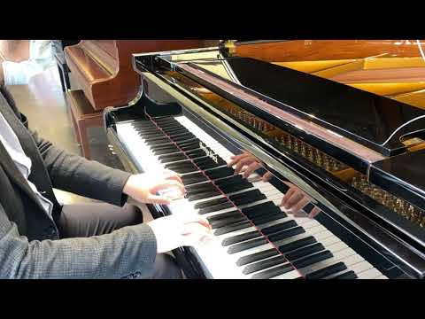 No Time to Die by Billie Eilish piano cover on a George Steck Baby Grand Piano