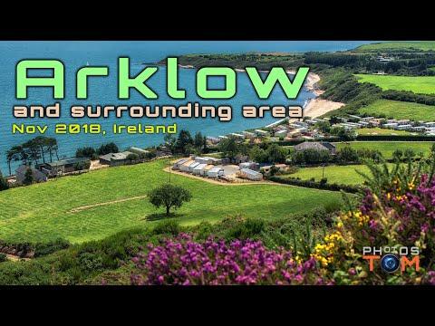 Arklow and surrounding area - Nov 2018, Ireland